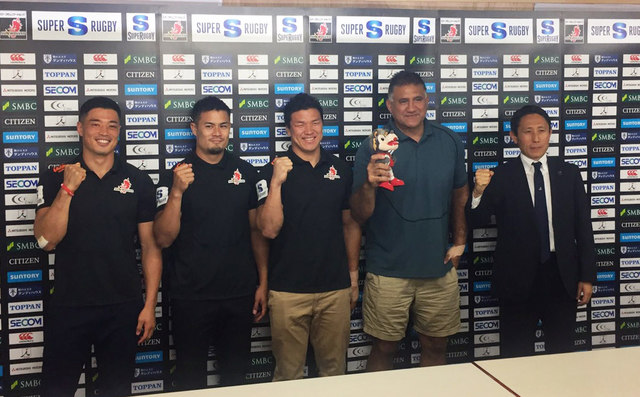 HITO-Communications SUNWOLVES 2018 Season Head Coach and Squads Announcement