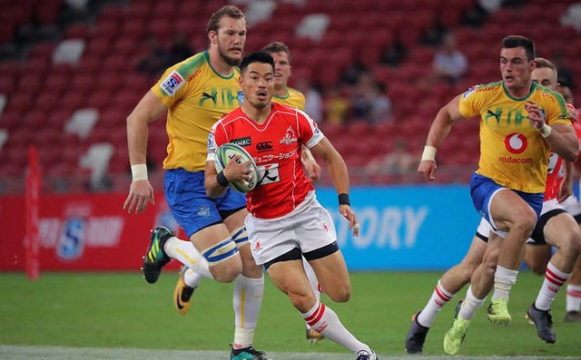 HITO-Communications SUNWOLVES 42-37 BULLS
